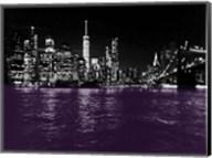 New York City Purple Rain Fine-Art Print