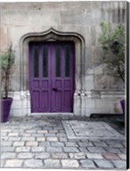 Purple Door 4 Fine-Art Print