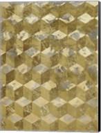 Golden Cubism Fine-Art Print