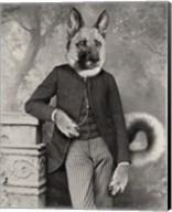 Hans The German Shepherd Fine-Art Print