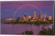 Rainbow over Cleveland Fine-Art Print