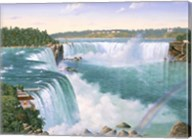 Niagara Falls In 1860 Fine-Art Print