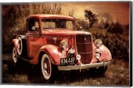 Little Red Truck Fine-Art Print