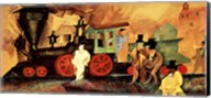 Old Locomotive Fine-Art Print