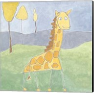 Quinn's Giraffe Fine-Art Print