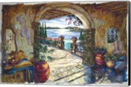 Secret Terrace Fine-Art Print