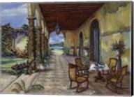 Terrazzo Hiacia Del Mar Fine-Art Print