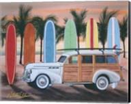 Sunset Woody Fine-Art Print