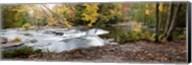 Bond Falls Panorama in Fall, Bruce Crossing, Michigan 09 Fine-Art Print