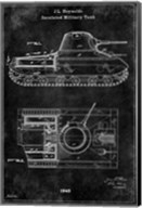 Tank1 Black Fine-Art Print