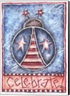 Celebrate Patriotic Ladybug Fine-Art Print