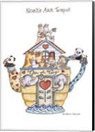 Noah's Ark Teapot Fine-Art Print