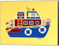 Boating Bears Fine-Art Print