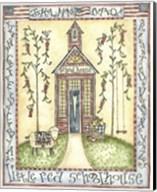 Little Red Schoolhouse Fine-Art Print