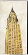 Gilded Skyscraper I Fine-Art Print