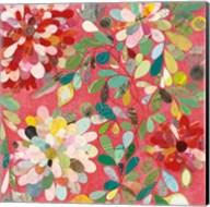 Red and Pink Dahlia II Fine-Art Print