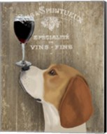 Dog Au Vin Beagle Fine-Art Print