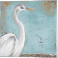 Tropic Heron I Fine-Art Print
