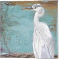 Tropic Heron II Fine-Art Print