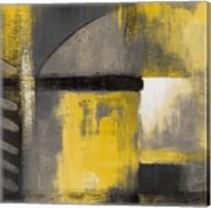 Grey and Yellow Soiree I Fine-Art Print