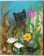 Cat in the Garden Fine-Art Print
