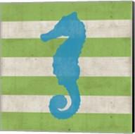 Primary Striped Coastal II Fine-Art Print
