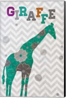 Emerald Giraffe Fine-Art Print