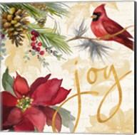 Christmas Poinsettia I Fine-Art Print