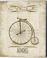 Cycle 1886 Fine-Art Print