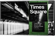 Times Square Subway Green Fine-Art Print