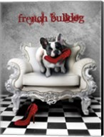 French Princess Bulldog 82453 Fine-Art Print