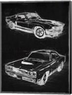 Car Black Print Fine-Art Print