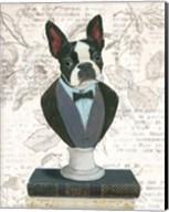 Canine Couture Newsprint I Fine-Art Print
