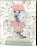 Canine Couture Newsprint IV Fine-Art Print