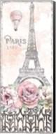 Paris Roses Panel VIII Fine-Art Print