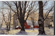 Maple Syrup Time, Collins Center Ny Fine-Art Print