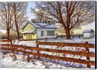 Old Schoolhouse, Leon, Ny Fine-Art Print