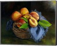 Peaches Basket Fine-Art Print