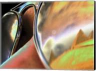 Pyramids in Sunglasses Fine-Art Print