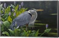 Biding Time Great Blue Heron Fine-Art Print