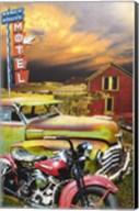 Ranch House Motel Fine-Art Print
