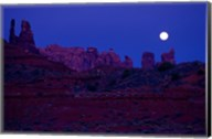 Moon Over the Desert Fine-Art Print