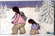 Winter Walk Fine-Art Print