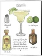 Classic Cocktail - Margarita Fine-Art Print
