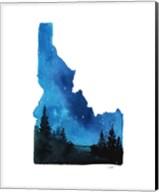 Idaho State Watercolor Fine-Art Print