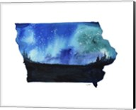 Iowa State Watercolor Fine-Art Print