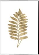 Graphic Gold Fern III Fine-Art Print