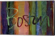 Abstract Boston Fine-Art Print