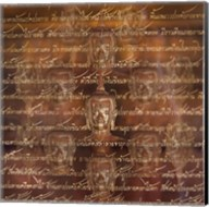 Buddha - Scripture Fine-Art Print