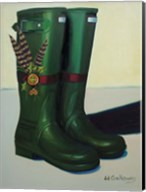 Holiday Wellies Fine-Art Print